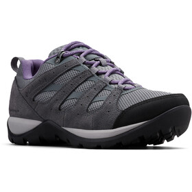 Columbia Redmond V2 WP Zapatillas Mujer, ti grey steel/plum purple